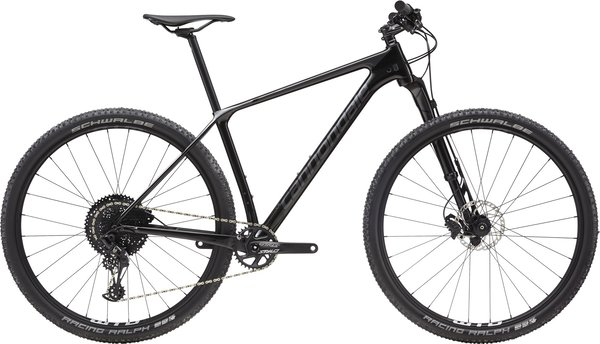 Cannondale F-Si Carbon 4 (a23) Color: Black Pearl w/ Graphite, Charcoal and Fine Silver