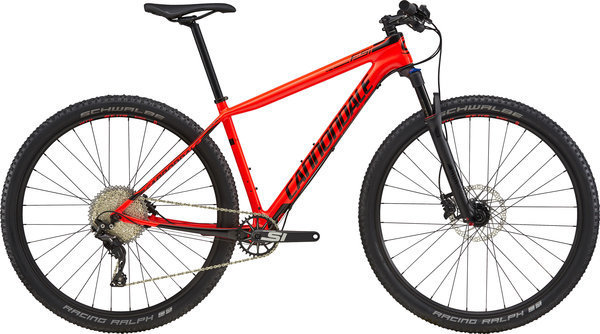 Cannondale F-Si Carbon 5 Color: Acid Red