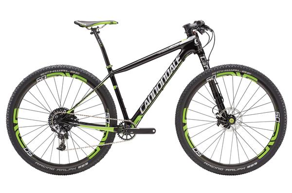 Cannondale F-Si Hi-MOD Team Color: Jet Black w/Berzerker Green/Silver