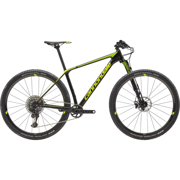 Cannondale F-Si Hi-MOD World Cup Color: Jet Black w/ Volt and Acid Green