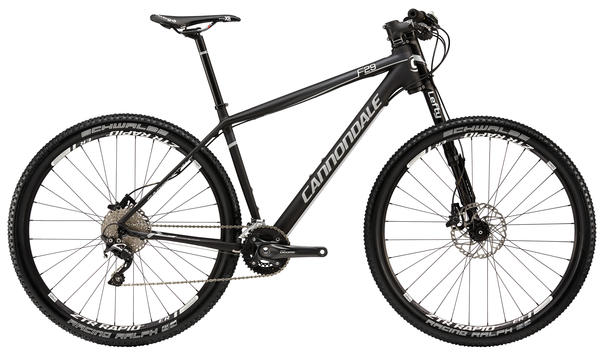 Cannondale F29 Carbon 4 Color: Jet Black w/Nearly Black