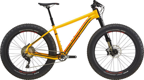 Cannondale Fat CAAD 1 Color: Nitro Yellow