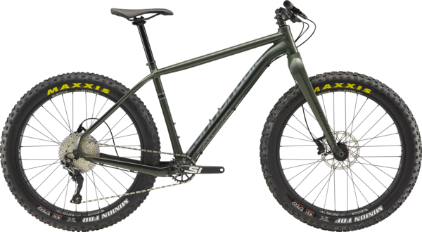 Cannondale Fat CAAD 2 Color: Green Clay/Stealth Gray/Jet Black