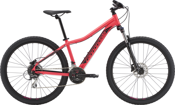 Cannondale Foray 1 Color: Acid Strawberry w/Black Pearl and Charcoal