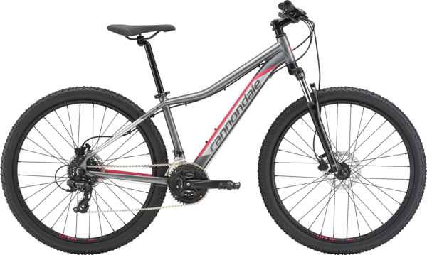 Cannondale Foray 2 Color: Charcoal w/ Acid Strawberry and Reflective