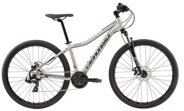Cannondale Foray 4 Color: Fine Silver/Nearly Black