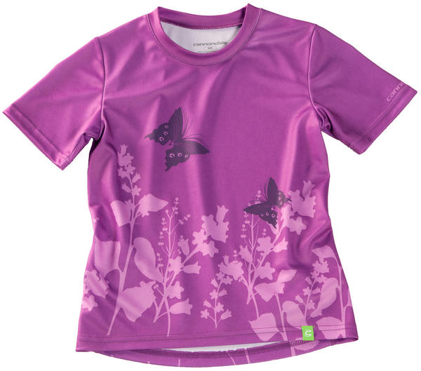 Cannondale Girl's Tech Tee Color: Purple
