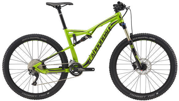 Cannondale Habit 5 Color: Acid Green