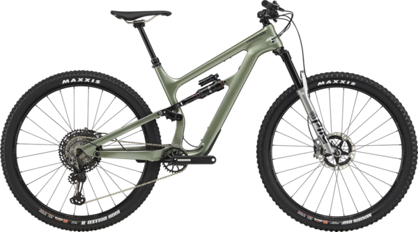 Cannondale Habit Carbon 1 Color: Agave