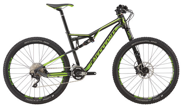 Cannondale Habit Carbon 3 Color: Nearly Black w/ Berzerker Green