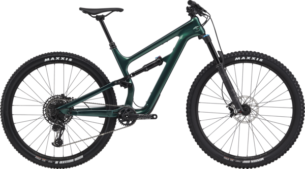 Cannondale Habit Carbon 3 Color: Emerald