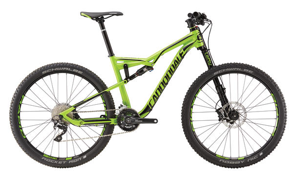 Cannondale Habit 4 Color: Berzerker Green w/ Jet Black
