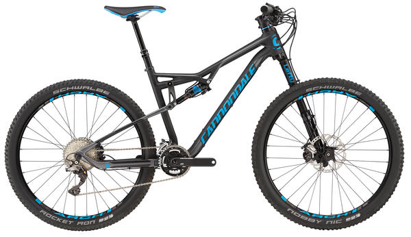 Cannondale Habit Carbon 2 Color: Jet Black w/ Ultra Blue