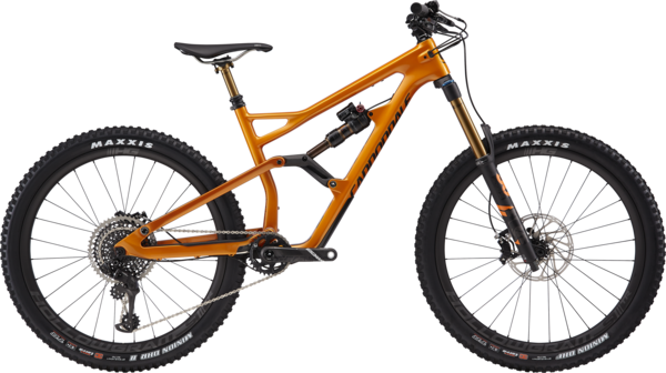 Cannondale Jekyll 1 (10/28) Color: Tangerine w/Graphite