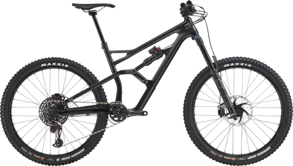 Cannondale Jekyll 2 (i6) Color: Graphite w/Jet Black and Charcoal