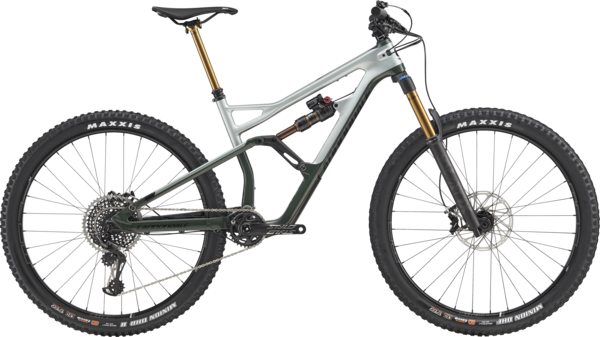 Cannondale Jekyll 29 1 Color: Sage Gray w/Green Clay and Jet Black