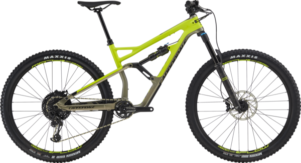 Cannondale Jekyll 29 3 Color: Volt w/Meteor Gray and Black Pearl