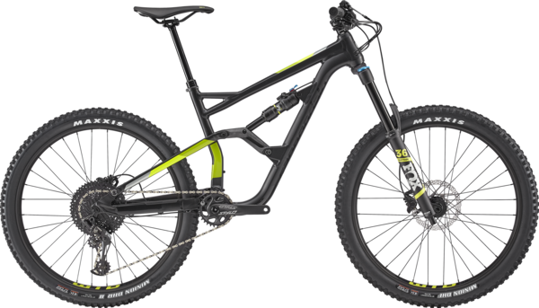 Cannondale Jekyll 3 Color: Black Pearl w/Acid Green, Volt and Sage Gray