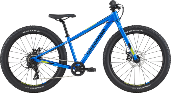 Cannondale Kids Cujo 24+ Color: Electric Blue