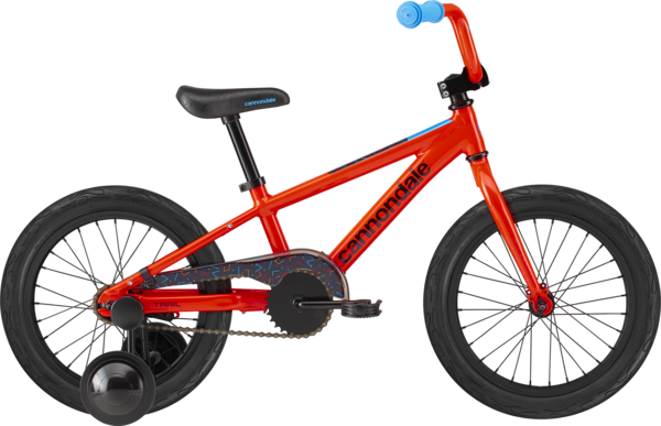 Cannondale Kids Trail Single-Speed 16-inch Color: Acid Red