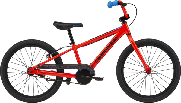 Cannondale Kids Trail Single-Speed 20-inch Color: Acid Red