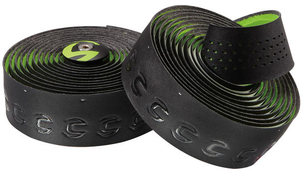 Cannondale Microfiber Plus Premium Handlebar Tape Color: Black/Green