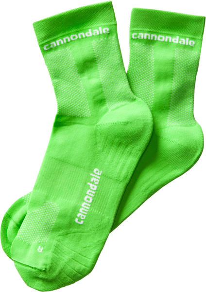 Cannondale Mid Socks Color: Berserker Green