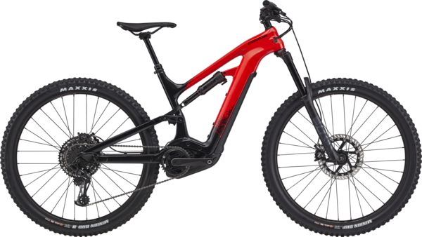 Cannondale Moterra 2 Color: Acid Red