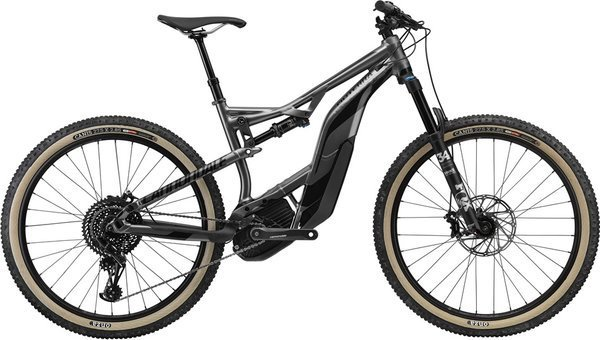 Cannondale Moterra SE Color: Charcoal Grey w/ Jet Black - Gloss