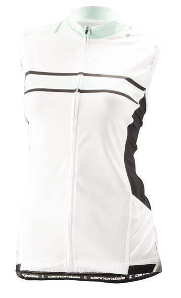 Cannondale Endurance Sleeveless Jersey - Women's Color: White/Linen/Black