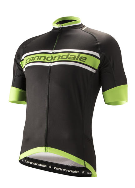 Cannondale Endurance Jersey Color: Black/Berserker Green/White