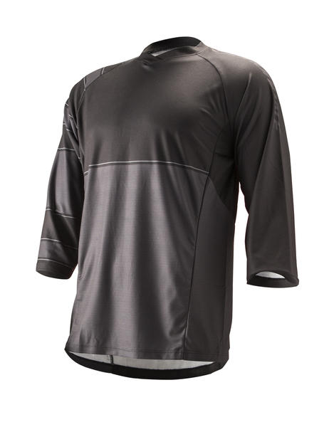 Cannondale 3/4 Sleeve Trail Jersey Color: Black
