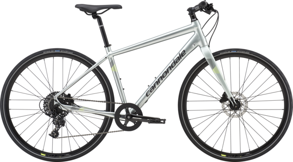 Cannondale Quick 2 Color: Sage Gray w/Graphite and Volt