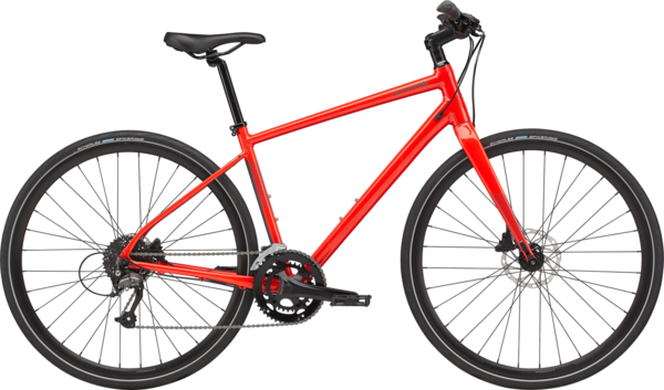 Cannondale Quick 3 Color: Acid Red