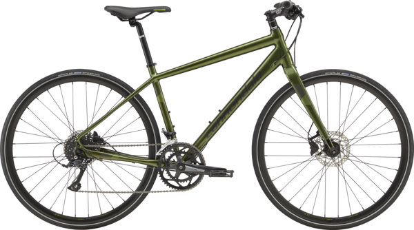 Cannondale Quick 3 Color: Vulcan w/Jet Black and Cannondale Green