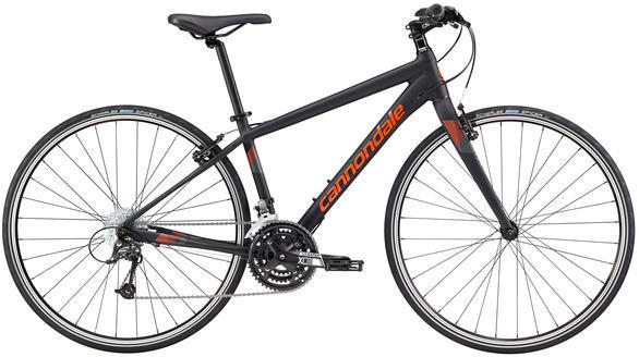 Cannondale Quick 4 Women's Color: Jet Black/Inferno Matte