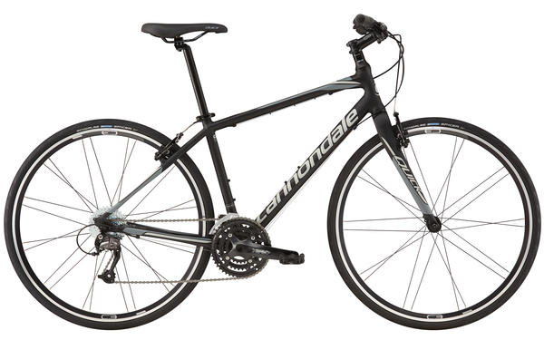 Cannondale Quick 4 Color: Jet Black/Primer Stealth Gray