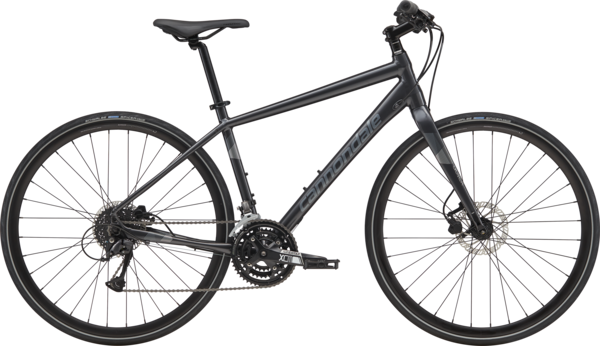 Cannondale Quick 4 (a10) Color: Graphite w/ Charcoal and Fine Silver