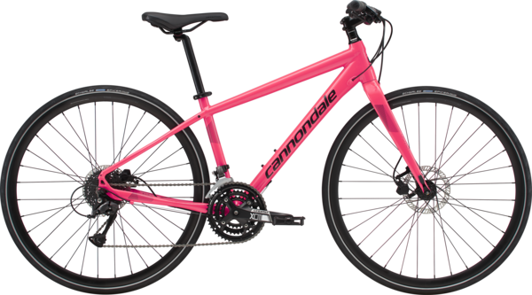 Cannondale Quick Women's 4 Color: Acid Strawberry w/Black Pearl