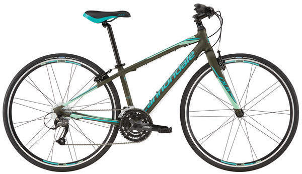 Cannondale Quick 4 - Women's Color: Green Clay/Turquoise