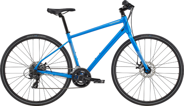 Cannondale Quick 5 Color: Electric Blue