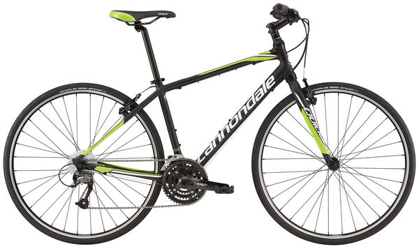 Cannondale Quick 5 Color: Jet Black/Charcoal Gray/Race Red