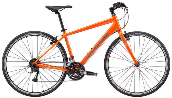 Cannondale Quick 6 Color: Hazard Orange/Charcoal Grey/Reflective Gloss