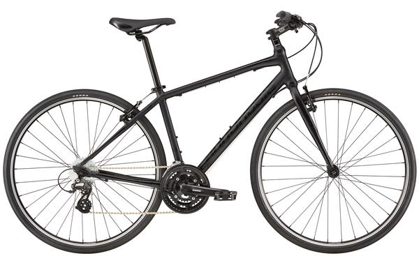 Cannondale Quick 6 Color: Jet Black, Matte/Gloss
