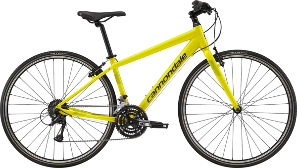 Cannondale Quick 6 Women's Color: Hot Yellow w/Acid Green and Graphite