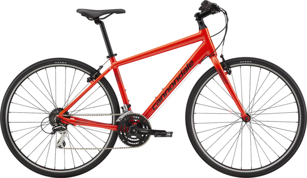 Cannondale Quick 7 Color: Acid Red w/Jet Black