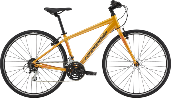 Cannondale Quick 7 Women's Color: Tangerine w/Acid Strawberry and Graphite
