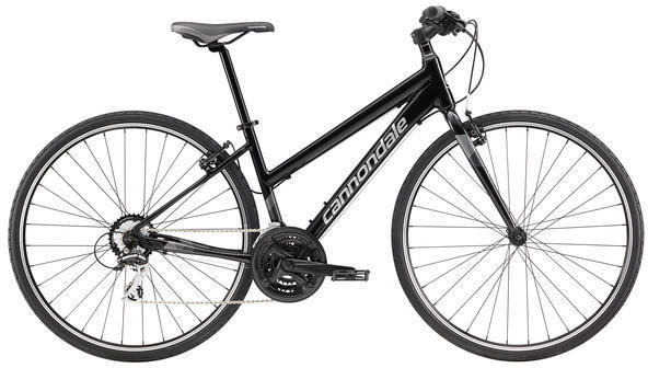 Cannondale Quick 8 Women's Color: Jet Black/Silver/Charcoal