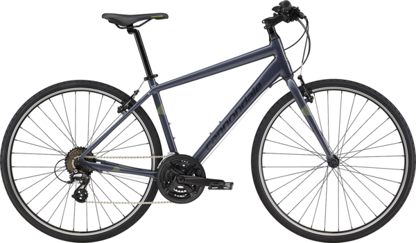 Cannondale Quick 8 Color: Slate w/Midnight and Cannondale Green