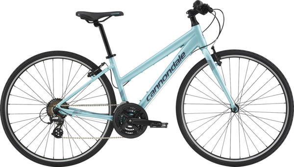 Cannondale Quick 8 Women's Color: Aqua w/Turquoise and Slate